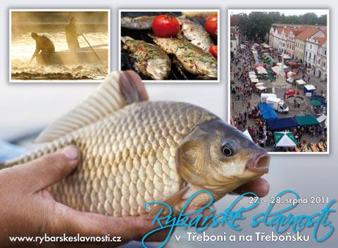 Vzhled pohlednice - Rybářské slavnosti 2011